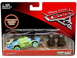 disney/pixar cars 3 demo derby bill with synthetic tires diecast vehicle