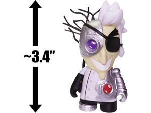 "cyborg scientist robot chicken: ~3.4"" kidrobot x adult swim mini figure uncommon"