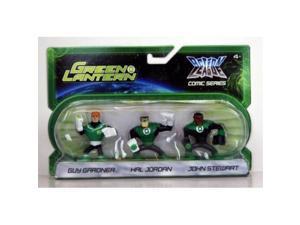 green lantern action league comic series 3pack guy gardner, hal jordan john stewart