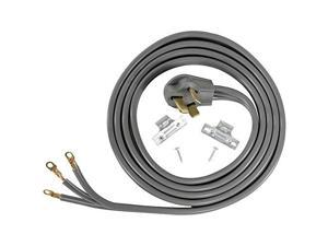 certified appliance accessories 3wire closedeyelet 50amp range cord, 6ft