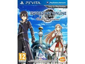 sword art online: hollow realization  playstation vita