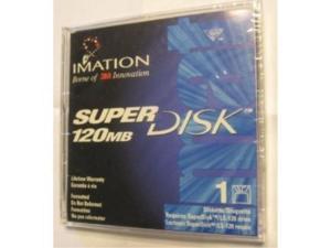 1pack superdisk 3.5in 120mb prefmt ls 120