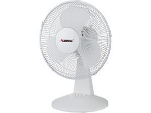 """lorell llr44551 desk fan, 12"""""""