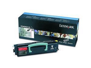 lexmark x340h21g highyield toner, 21000 pageyield, black