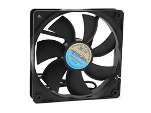 masscool fd12025s1l34 120mm 3/4 pin sleeve bearing case cooling fan