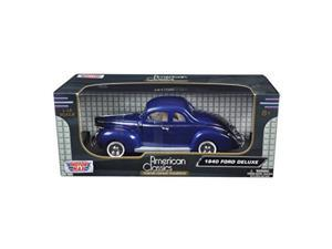 motormax 1940 ford deluxe diecast collection 1:18 scale
