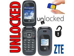zte z222 3g gsm at&t unlocked flip phone with camera not cdma carriers like sprint verizon boost mobile virgin mobile