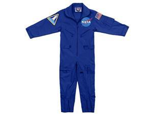 rothco kids nasa flight coveralls with official nasa patch, m