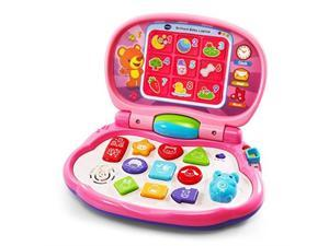 vtech brilliant baby laptop, pink
