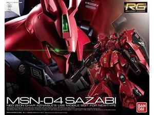 "bandai hobby rg 1/144 #29 sazabi ""char's counterattack"""