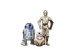 artfx+ star wars the force awakens movie c3po r2d2 with bb8 1/10 figure kotobukiya