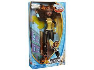 dc super hero girls bumblebee action pose doll