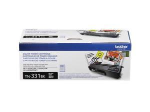 brother genuine standard yield toner cartridge, tn331bk, replacement black toner, page yield up to 2,500 pages,  dash replenishment cartridge, tn331