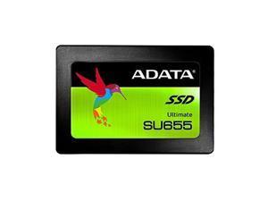 adata su655 480gb 3d nand 2.5 inch sata iii high speed read up to 520mb/s internal ssd asu655ss480gtc new version