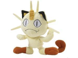 pokemon mini plush  diamond & pearl 5 inch  meowth