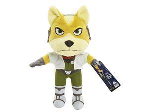 nintendo world of 88794 star fox plush, 7.5inch
