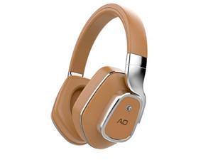 ao active noise cancelling wireless bluetooth headphones  m7 brown