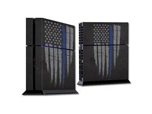 Skin Decal Wrap for Sony PlayStation 4 PS4 Console sticker Thin Blue Line