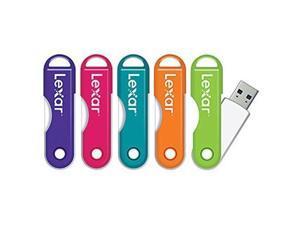 LexarTM JumpDrive reg; TwistTurn USB Flash Drive, 64GB, Assorted Colors (No Color Choice) - Easily slips onto