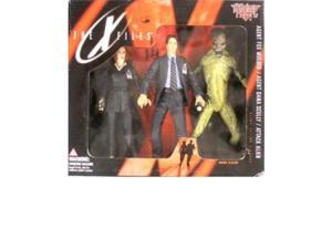 mcfarlane toys the xfiles mulder, scully & attack alien