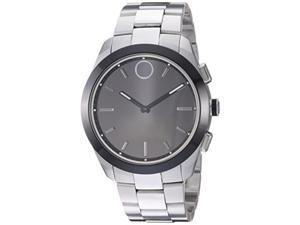 0eb2c4c1a Movado Bold Connected II Series Mens Stainless Steel Quartz Watch 3660016