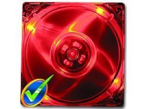 logisys cf120rd 120mm ballbearing red led pc computer case fan w/3+4pin power