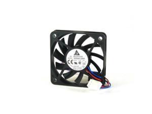 delta electronics efb0612maf00 60x60x10mm cooling fan, 15.54 cfm, 29 dba, 3600 rpm, 0.12a, 3pin tac connector, a set of 2 pcs