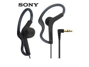 sony extra bass active sports in ear ear bud over the ear splashproof premium headphones dark gray limited edition