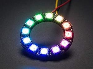 adafruit neopixel ring  12 x 5050 rgb led with integrated drivers ada1643