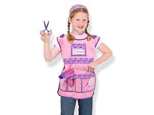 melissa & doug hair stylist role play costume dressup set 7 pcs