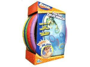 spring & summer toys banzai pool time dive rings 6pack