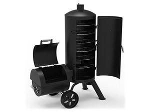 Dyna-Glo signature series dgss1382vcsd heavyduty vertical offset charcoal smoker & grill