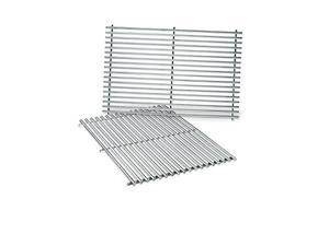 weber 7528 stainless steel cooking grates 19.5 x 12.9 x 0.6