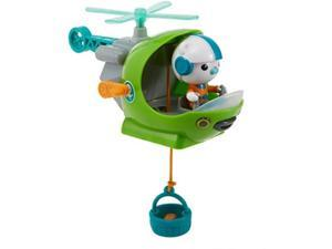 Octonauts Gup-H & Barnacles Playset Interactive Helicopter Vehicle Fisher-Price