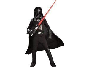 rubies star wars classic child's deluxe darth vader costume and mask, large