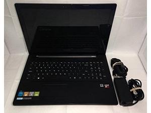 lenovo g50 80e30181us 15.6inch laptop amd a8, 6gb ram, 500gb hdd, dvdsupermulti drive, windows 8.1