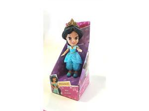 disney princess poseable jasmine sparkle collection mini toddler doll 3""