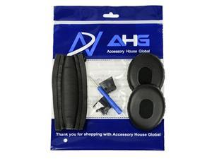 074e9868d3a replacement ear pads and headband cushion pad for bose quietcomfort 3 qc3  package is only compatible