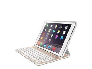 belkin qode ultimate pro keyboard case for ipad air 2 white & gold