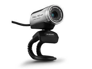 AUSDOM_reg; AW615 12.0M 1080P HD USB Webcam with Microphone for Laptop / Desktop / Skype / MSN, Auto