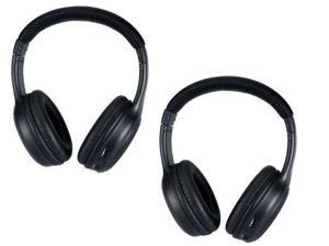 wireless headphones for the infiniti qx dvd player system  2 programmed ir headsets