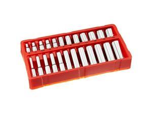 greatneck 18622 metric socket set, 1/4 inch drive, 24piece