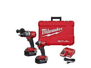 Milwaukee 2997-22 M18 Fuel 2-Tool Combo Kit: Hammer Drill/Impact