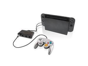 nyko retro controller hub  4 port gamecube controller adapter for nintendo switch