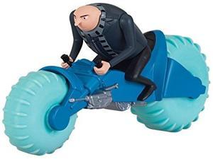 despicable me flamingo water cyle with gru toy figure