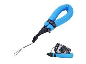 camera float foam wrist strap jjc waterproof camera floating hand strap for olympus tg5 tg4 tg3 tg2 tg1 tg870 tg860 tg850 tg810 tg610 tg320 tg310 gopro hero4 hero3+ canon d10 d20 d30blue