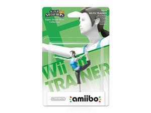 wii fit trainer amiibo  europe/australia import super smash bros series