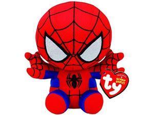 "ty beanie babie spiderman 8"""
