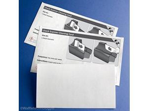 check scanner cleaning cards 25
