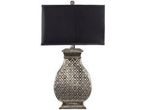 safavieh lighting collection malaga silver 29inch table lamp